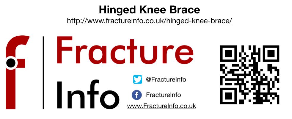 Hinged Knee Brace QR